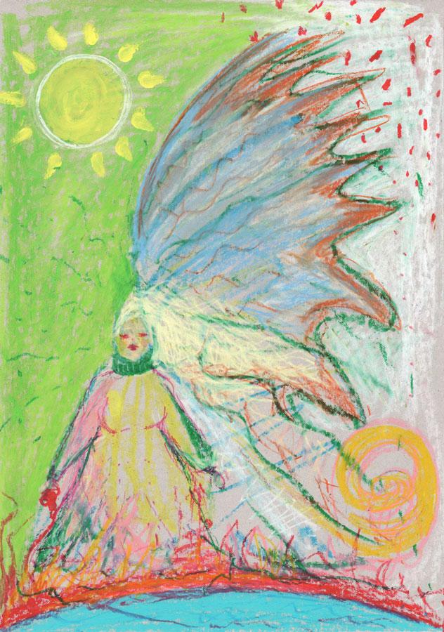 "Artwork ""Mother Nature"", 2020 by Natalie Sina Larimar"