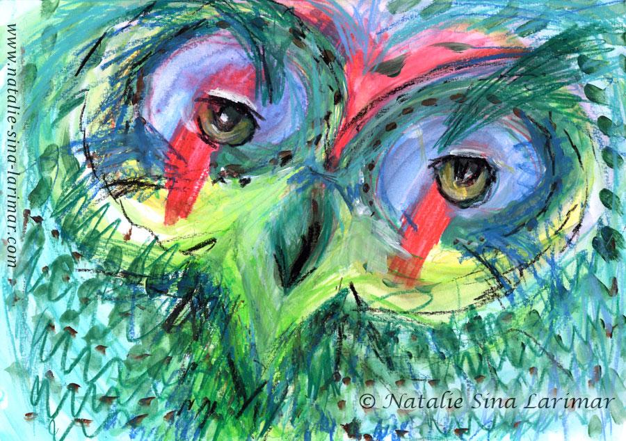 Owl eyes, 2020